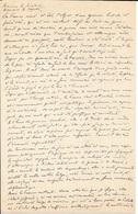 MANUSCRIT 4 AOUT 1914 ADRESSE AUX MINISTRES ET DEPUTES -  DECLARATION DE LA GUERRE 1914 - 1914-18