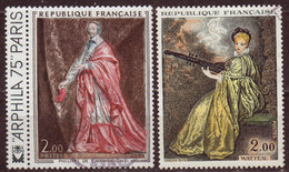 FRANCE - 1973 - YT N° 1765 / 1766 - Oblitérés - Oeuvres D'Art - France