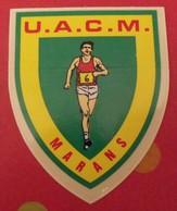 Autocollant UACM Marans. Athlétisme. Vers 1960-70 - Autocollants