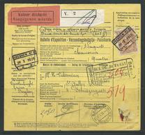 Spoorwegdocument 28.1.1926 Naar Zwitserland - Chemins De Fer