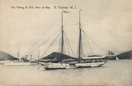 St Thomas Dansk Vestindien   The Viking And Grm Men Of War Edit Fraas - Vierges (Iles), Amér.
