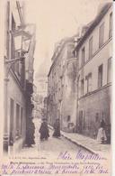 CPA -   PARIS HISTORIQUE 60. VIEUX MONTMARTRE - La Rue St Rustique - France