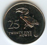 Zambie Zambia 25 Ngwee 1992 UNC KM 29 - Zambie