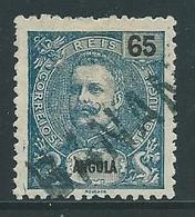 Angola Nr 65 Met Stempel Banana - Angola
