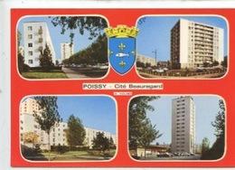 Poissy : Cité Beauregard (multivues N°4370 Cp Vierge) - Poissy