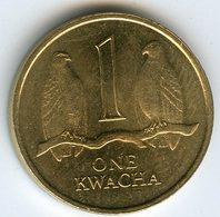 Zambie Zambia 1 Kwacha 1992 UNC KM 38 - Zambie
