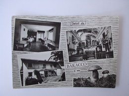 Cartolina .Saluti Da BARACCO.Viaggiata 1969 - Cuneo