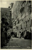 RPPC   Jerusalem Wailing Wall Of The Jews - Judaísmo