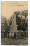 Ladornac Le Monument Aux Morts - Other Municipalities