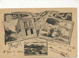 Ponce P. Used 1902  San Juan Casino  Puero Carro Con Cana De Azucar  Edit Ernst Weldemann - Puerto Rico