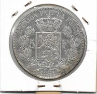 LEOPOLD 1 - 5 FRANK 1851 - 11. 5 Francs