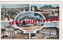 23- GUERET - ECOLE GARCONS- PLACE BONNYAUD-HOTEL VILLE-GARE - 1958 - Guéret