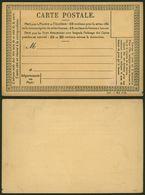 Cartes Postale (Mai 1878 Précurseurs_Nr. 1221) '10 Centimes Pour La France Et 15 Centimes Pour L'étranger.'. - Entiers Postaux