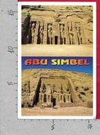 CARTOLINA VG EGITTO - ASWAN - Abu Simbel - 11 X 16 - ANN. 2003 - Aswan