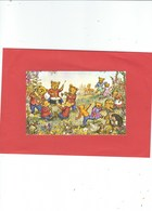 MEDICI PUBLISHED MOLLY BRETT TEDDY BEAR BAND  CARD NO PK 422   PROBALLY PUBLISHED IN THE 60S - Illustrators & Photographers