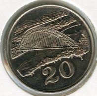Zimbabwe 20 Cents 1980 UNC KM 4 - Zimbabwe