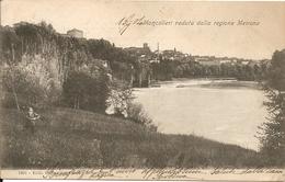 MONCALIERI - VEDUTA DALLA REGIONE MEIRANO - F. PICCOLO (retro Indiviso) - VIAGGIATA 1904 - (rif. D91) - Moncalieri