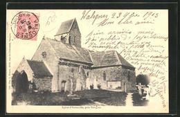 CPA Huberville / Valognes, Eglise D`Huberville - Valognes