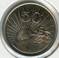 Zimbabwe 50 Cents 1980 UNC KM 5 - Zimbabwe
