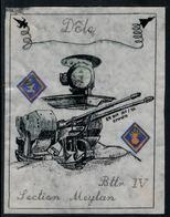 Rare // Etiquette De Vin //  Militaire  //  Dôle, ER DCA 245/92 Emmen Bttr IV - Militaire