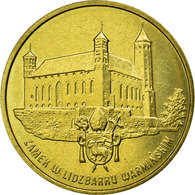 Monnaie, Pologne, Castle And Shield, 2 Zlote, 1996, Warsaw, SUP, Laiton, KM:313 - Pologne