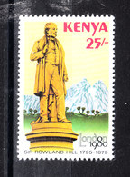 Kenya - 1980. Monumento A Rowland Hill. Monument To Rowland Hill.. MNH - Rowland Hill