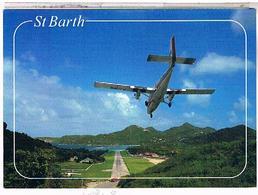 Aerodromes Aeroports    SAINT  JEAN A SAINT BARTHELEMY  1997 - Vliegvelden