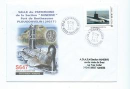 16895 - SOUS-MARIN -- 62ème CONGRES SOUS MARINIERS - PLOUGONVELIN - 2013 ) TPAM SM - Marcophilie (Lettres)