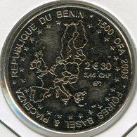 Benin 1500 CFA Francs 2005 1 Africa IDAO Elephant / Europe UNC - Benin