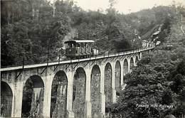 Pays Div -ref P471- Malaisie - Malaysia - Penang Hill Railway - Ligne De Chemin De Fer - Carte Bon Etat - - Malaysia