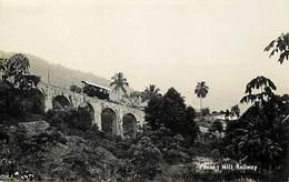 Pays Div -ref P470- Malaisie - Malaysia - Penang Hill Railway - Ligne De Chemin De Fer - Carte Bon Etat - - Malaysia