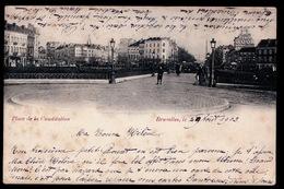 BRUXELLES ST.GILLES    PLACE DE LA CONSTITUTION - St-Gillis - St-Gilles