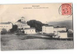 CPA 63 Le Brugeron Vue D'ensemble Coté Nord - Frankreich