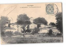 CPA 63 Le Brugeron Vue D'ensemble Coté Sud - Frankreich