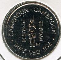 Cameroun Cameroon 750 CFA Francs 2005 1/2 Africa IDAO Pygmée UNC - Cameroun