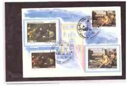 TEM3265   -   BOLOGNA  27.11.1993   /   FDC  BARTOLOMEO MANFREDI E SEBASTIANO DEL PIOMBO - Andere
