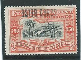Belgisch Congo 37 L (1 Of 4 ) Met Omgekeerde Opdruk - 1894-1923 Mols: Neufs