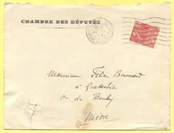 FRANCIA - France - 1931 - 50c Paris Exposition Coloniale Internationale + Special Cancel - Chambre Des Députés - Viaggia - Francia