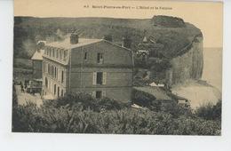 SAINT PIERRE EN PORT - L'Hôtel Et La Falaise - Frankreich