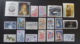 FRANCE - Année 1980 - 39 Timbres ** Neuf Sans Charnière Tous Différents - Timbres