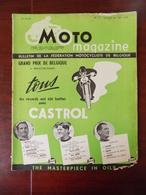 Moto Magazine N° 11 GP. Belgique Moto-cross Namur - GP. De Vitesse Francorchamps - Michelin - ... - Auto/Moto