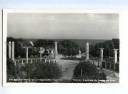 173051 BULGARIA VARNA Sea Garden Old Photo Postcard - Bulgarie