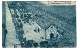Campagnan - Les Etablissements NARTHUS Vins De France Et D'Algérie - Edit. Floquet, Montcy - 2 Scans - Otros Municipios