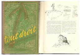 Scoutisme Tout Droit  P. Joubert   1943 - Scoutisme