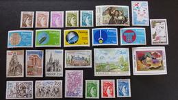 FRANCE - Année 1981 - 56 Timbres ** Neuf Sans Charnière Tous Différents - Stamps