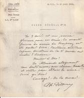 MANUSCRIT  10 AVRIL 1916 -  ENTETE IIE ARMEE ETAT MAJOR ..ORDRE GENERAL N° 94   -  FELICITATION  DE CH. PETAIN SIGNEE - 1914-18