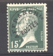 0ob 054  -  France  -  Préos  :  Yv  65  (*) - 1893-1947