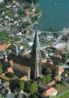 1 AK Germany * Blick Auf Den St. Petri-Dom In Schleswig - Luftbildaufnahme * - Schleswig
