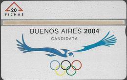 Argentina - Popi L&G - Olympic Buenos Aires 2004 - 701L - 20U, 01.1997, Mint - Argentina