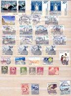 Groenlandia Lotto 35 Francobolli Della Groenlandia Bollati - Groenland